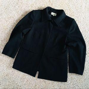 🔎 [size: 6P] L.L Bean Faux Wool Blazer